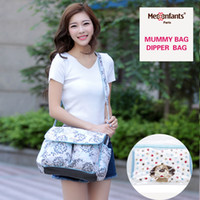 Wholesale New fashion Mes Enfants diaper bag waterproof nappy bag outdoor stroller travel Tote Shoulder mummy bag drop shipping crossbody