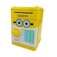 5-7 Years atm saving bank - Password Electronic Money Bank Mini ATM Coin Saving Banks Piggy Bank Cash Coin Saving Boxes Toys Gifts for Kids