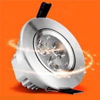 Wholesale 3W W W W W Dimmable LED Downlights Round LED Lights Ceiling Light Downlight Freeshipping