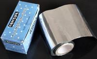 Wholesale 300cmx10cm Aluminum Foil Paper For Nail Remover UV Gel Wraps Remove