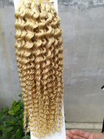 Wholesale New Brazilian human hair Curly Hair g A Unprocessed Brazilian Weave Bundles Inches Hair Extension pure color