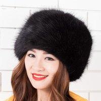 Wholesale The new winter female imitation fur dome pure color lei feng s hat Copy the fox fur earmuffs rabbit fur hats