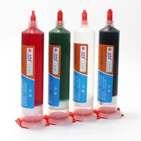 Wholesale Red green black transparent glue fixing screws positioned adhesives