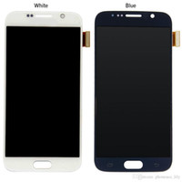 Wholesale For Samsung GALAXY S6 S6 Edge OEM A LCD Display Touch Screen Digitizer Assembly Replacement Part
