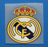 Wholesale Real Madrid football patch Soccer Balls Team logo