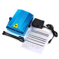 Wholesale Mini Laser Stage Lights R G Projector Lighting Xmas Party DJ Disco KTV Show Blue Color US AU EU UK Plug