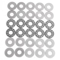 Wholesale 10pcs Thrust Needle Roller Bearing With x24x1mm Washers