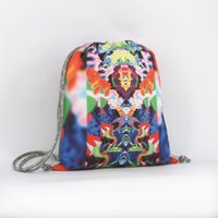 Wholesale Chinese Fashion Sports Backpacks for Women and Men Authorized Illustrations Print Shoulder Bags Lightweight Waterproof Packs JB10001161N