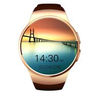 Wholesale KW18 circular screen heart rate monitor watch smart watch smart card reminder round screen Bluetooth Watch