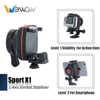abs video - 2017 Wewow Sport X1 retail axis Brushless world leading technology portable Gimbal for mobile phone Steadicam Video Stabilizer
