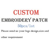 Fabric assorted patches - Arts and crafts Custom Embroidery Patch DIY fashionable mixed assorted clothing Epaulet badge Applique garment accessories