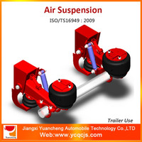 air suspension vehicle - China Factory Vehicle Structural Parts Truck Air Suspension for Malaysia Market Trailer Air Suspension