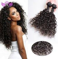 Grado 7A brasileño virgen pelo hilados peruano indio malasio honda profunda puede ser teñido