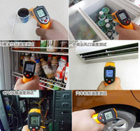 Wholesale high quality Brand New Non Contact LCD IR Infrared Digital Temperature Thermometer Point GM320 ºC