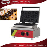 Wholesale Stainless steel high quality electric V manul snack equipment donut making machine with holes CR DN15B