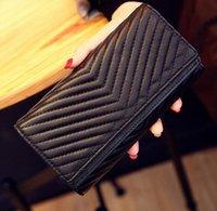 Wholesale fashion simulate genuine leather Women Wallet Long Purse Multiple Cards Holder Clutch Fashion Standard Wallet