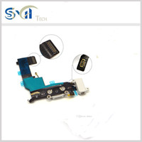 Wholesale 10pcs New Charging flex cable for iphone USB port dock connector flex cable