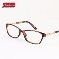 achat en gros de gros verres élégants cadres-Vente en gros - Chashma Fashion Stylish Design Tortoise Lunettes Cadres Lunettes de prescription pour femmes Frame Transparent Glasses
