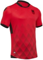 Wholesale Whosales top quality fast shipping Albania home away rd soccer jerseys Quickly reach the football shirts