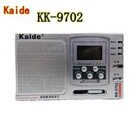 Wholesale Cadillac Kaide KD high sensitivity full band Pocket Radio KK Portable World Band AM FM Clock Radio Built in Speaker