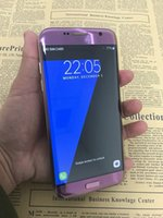 Couleur de messagerie android Prix-New Purple Color Android Smartphone S7 Edge Quad Core MTK6580 1 Go 8 Go 1280 * 720 HD 8MP 3G WCDMA Téléphones cellulaires