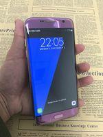 Android couleur email Prix-Nouveau mobile Android de couleur pourpre S7 Edge Quad Core MTK6580 1Go 8Go 1280 * 720 HD 8MP 3G WCDMA Téléphones cellulaires