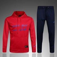 2017 dernier homme vêtements athlétiques, jogging vêtements de formation de loisirs 2 choix rouge et noir cap sports porter livraison gratuite