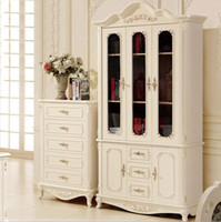No beautiful bookcases - new arrival hot selling french style beautiful white color uniqued design Bookcase furniture living room furniture pfy10029