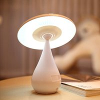 Wholesale Smart Touch Control Sensor Mushroom Night Light With Air Purifier with led desk reading night light