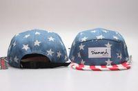 Los hombres a estrenar y las mujeres Diamond 5 sombreros del Snapback del hip-hop del casquillo del panel, envío ajustable de la gota de las gorras de béisbol