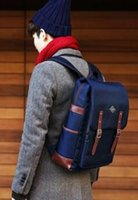 backpack english - Male and female students on the Korean English computer bag backpack leisure travel bag new fashion Backpack