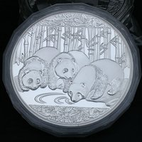 animal details - Details about kg silver china coin year panda silver COINS