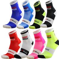 Wholesale New Mountain bike socks cycling sport socks Racing Cycling Socks Coolmax Material
