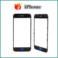 Wholesale Front Glass Outer Lens With Bezel Frame For iPhone plus s s plus DHL