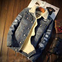 Wholesale Harley Mens Denim Jacket Rivets Jean Coat Punk Rock Washed Motorcycle Jacket Slim Fit Blue Designer Clothes winter Spring Autumn
