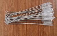 Wholesale Straw Brushes Bottle Cup Catheter Tube Spiral Soft Hair Brush Feeding Nursing Bottle Cleaner Tidy Toolspping