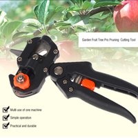 Wholesale 2016 Hot Garden Fruit Tree Pro Pruning Shears Scissor Grafting Cutting Tool Snip Secateur Machine Blade Garden Tools Set