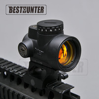 Wholesale Trijicon MRO Style Holographic Red Dot Sight Optic Scope Tactical Gear With mm Scope Mount For Hunting Rifle