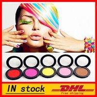 Wholesale 1set Colors Dye Hair Powdery Caketemporary Hair Chalk Powder Dye Soft Pastels Salon Temporary Party Christmas Diy