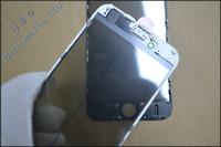 Стеклянный объектив передней стороны холодного давления 100pcs / lot первоначально с рамкой рамки + пленкой поляризатора OCA + собранной на экран LCD iPhone 6 / 6p / 6s / 6sp / 7 / 7p