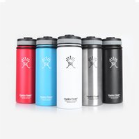 Wholesale Hydro Flask oz Vacuum Insulated Stainless Steel Water Bottle Wide Mouth Cap Sports Hydration Gear Cup