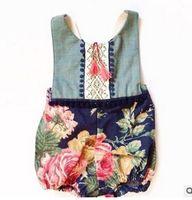 Wholesale summer baby onesie New Flower pompon tassel Girl Romper Fashion Floral Children Jumpsuit Babies Clothes