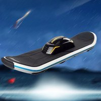Wholesale 2017 chirstmas One Wheel Unicycle Self Balancing Scooter Land Surfing Standing Electric Skateboard V mAh with LED Hoverboard