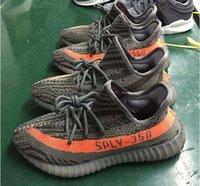Mesh beluga shipping - With Original box SPLY Boost V2 Season running shoes Mens STEGRY BELUGA SOLRED Primenkit Sport Shoes Women Free Drop Shipping