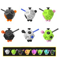 Wholesale 2017 Newest Generation Fidget Cube Relieves Stress Toy fidget Cube Decompression Fidget Toy Decompression Anxiety Toys for Children Adult