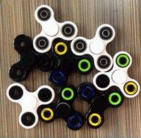 Wholesale Hand Spinner Fidget Toy Tri Spinner Fidget with high speed full or hybird ceramic bearing