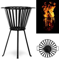 Wholesale Fire Basket Chimney Firewood Brazier Fire Bowl Fire Pit Patio Oven Fireplace