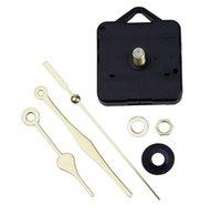 Bricolaje reloj de pared de reemplazo de piezas de movimiento reparación de cuarzo tiempo manos reloj motor