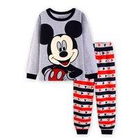 Wholesale NEW cartoon kids pajama sets children sleepwear boys nightwear girls family christmas pajamas Retail toddler baby pyjamas t t