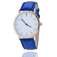 Los nuevos relojes de manera delgados de la señora de la manera grande libre del envío del precio al por mayor venden como las tortas calientes Los relojes de manera claros del comodín de los relojes de Gama